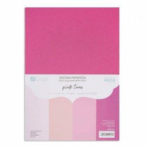 Pad DP Craft 20 cartulinas A4 Pink Tones