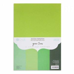 Pad DP Craft 20 cartulinas A4 Green Tones
