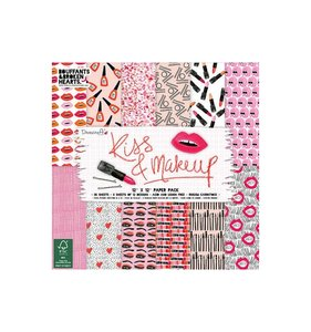 "Pad 12x12"" Kiss & Makeup"