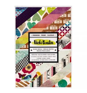 "Pad 6x8"" Vicki Boutin Color Kaleidoscope"