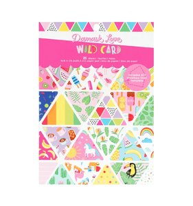 "Pad 6""x8"" Wild Card"