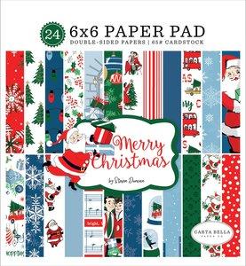 "Pad 6""x6"" Merry Christmas"