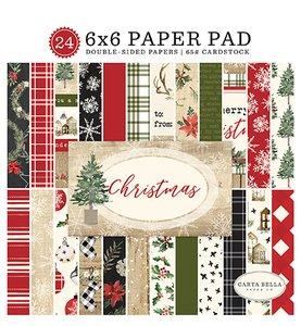 """Pad 6""""x6"""" Christmas"""