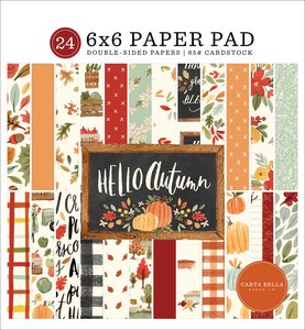 "Pad 6x6"" Carta Bella Hello Autumn"