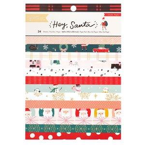 "Stack 6x8"" Hey Santa"