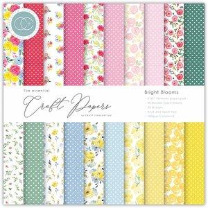 """Pad 6x6"""" Craft Consortium The Essential Bright Blooms"""