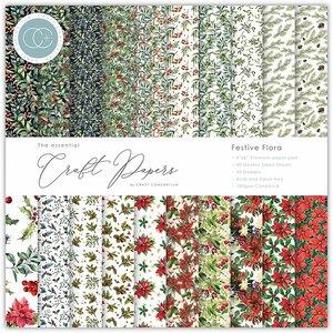 """Pad 6x6"""" Craft Consortium The Essential Festive Flora"""