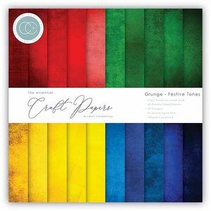 """Pad 6x6"""" Craft Consortium The Essential Grunge Festive Tones"""