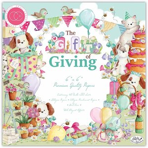 "Stack Premium 6x6"" The Gift of Giving"