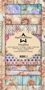 Pad papeles Paper Favourites 10x21 cm Woodflora