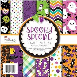"Pad 6x6"" Polkadoodles Spooky Especial Halloween"