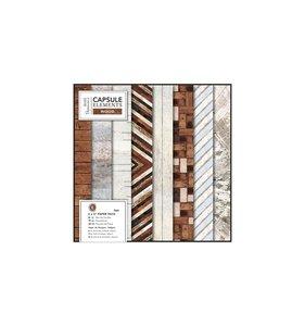 Pad 6x6 Capsule Elements Wood