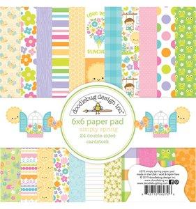 Pad 6x6 Doodlebug Simply Spring
