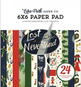 "Lost in Neverland Pad 6""x6"""