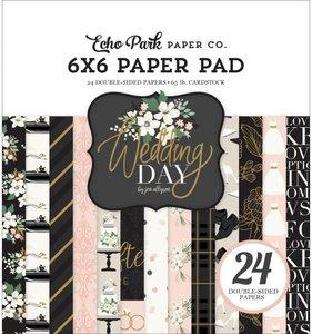 """Pad 6""""x6"""" Wedding Day"""