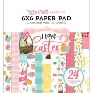 "I Love Easter 6x6"" Paper Pad"