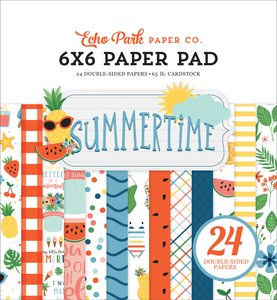 "Pad 6x6"" Echo Park Summertime"