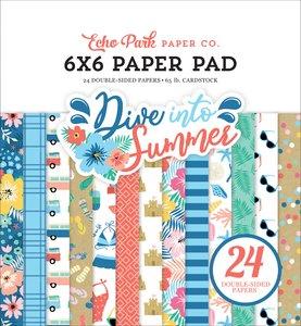 "Pad 6x6"" Echo Park Dive into Summer"