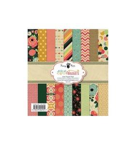 Pad 6x6 Burlap & Bouquets