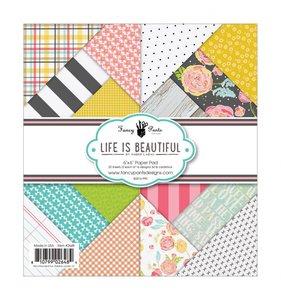 Life is Beautiful Pad 6x6