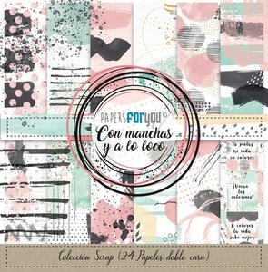 Pad Mini Papers For You Con Manchas y a lo Loco