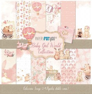Pad Mini Papers For You Baby Girl World 24 pcs