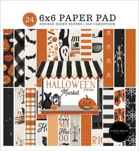 """Pad 6x6"""" Carta Bella Halloween Market"""