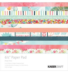 "Pad especial 6,5x6,5"" Party Time"