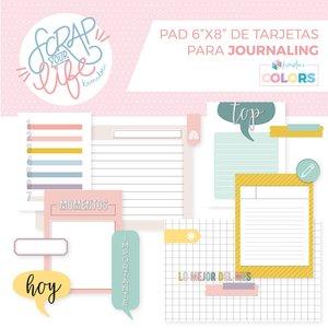 Bloc de tarjetas para Journaling Scrap your Life