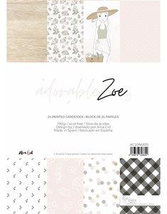 """Pad 6""""x8"""" Adorable Zoe 2.0 de Alúa Cid"""
