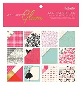 "Pad 6x6"" Gal Meets Glam"