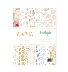 """Pad 6""""x8"""" vellums Aloha de Mintopía"""