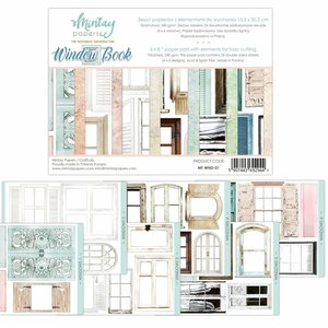 "Pad 6""x8"" Mintay Basics Windows Book"