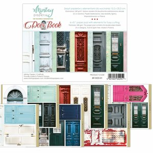"Pad 6""x8"" Mintay Basics Doors Book"