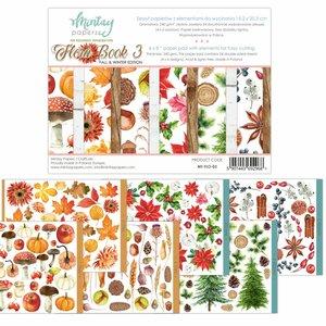 """Pad 6""""x8"""" Mintay Flora Book 3"""