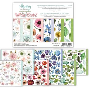"Pad 6""x8"" Mintay Basics Flora Book 2"