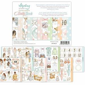 "Pad 6""x8"" Mintay Basics Baby Book"
