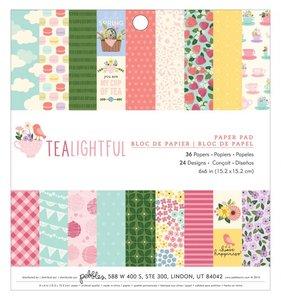 Pad 6x6 Tealightful