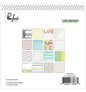 Life Noted Pad 6x6