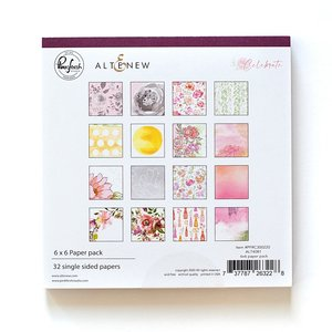 "Pad 6x6"" Celebrate de PinkFresh & Altenew"