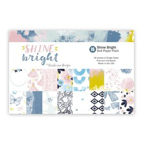 "Kit papeles 4""x6"" Shine Bright"