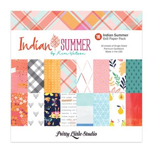 Pretty Little Studio Pack Indian Summer 6x6""