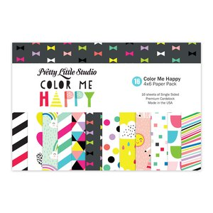 Pretty Little Studio Pack Color Me Happy 4x6""