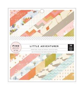 "Little Adventurer Girl Pad 6""x6"""
