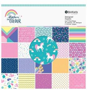 "Dream in color Pad 6""x6"""
