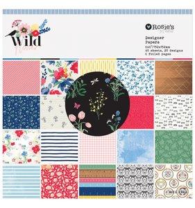 "Wildflower Pad 6""x6"""