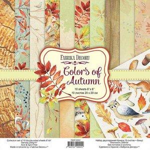 "Pad Fabrika Decoru 8x8"" Colors of Autumn"