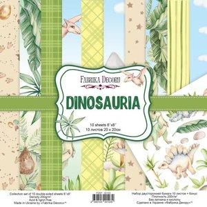 """Pad Fabrika Decoru 8x8"""" Dinosauria"""