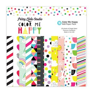 "Pretty Little Studio Pack Color Me Happy 8x8"""