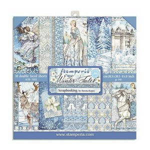 """Pad 8x8"""" Stampería Winter Tales"""